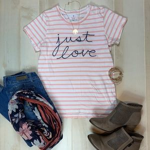 "Sundry Martime ""just love"" tee"